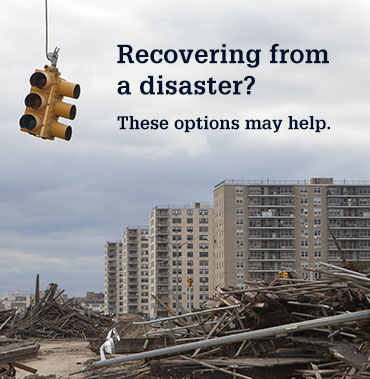 Disaster Relief image promo card